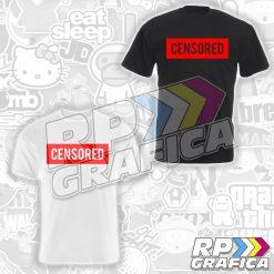 Maglietta T-Shirt Censored