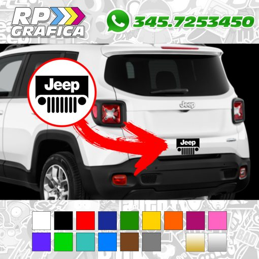 Adesivo Jeep Portellone